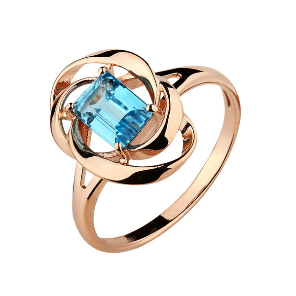 Золотое кольцо Топаз арт. 1910009 1910009