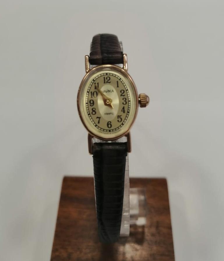 Женские часы из золота с серебром 925 пробы арт. 44330.449 44330.449