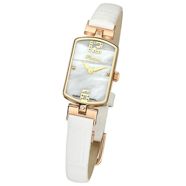 Женские часы из золота с серебром 925 пробы арт. 45836.306 45836.306