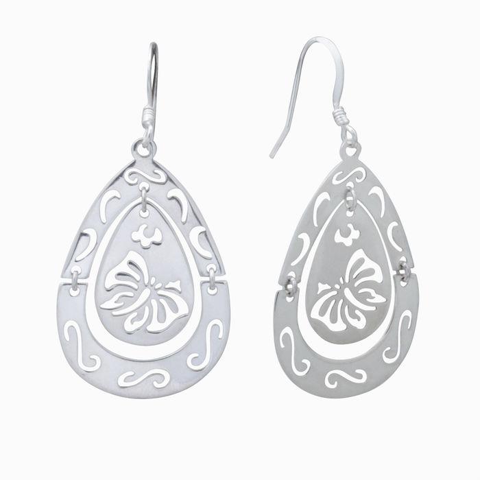 Серебряные серьги арт. 18609 18609
