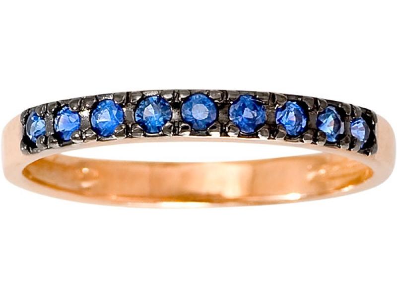 Кольцо из белого золота Сапфир арт. 1012341-21140-с 1012341-21140-с