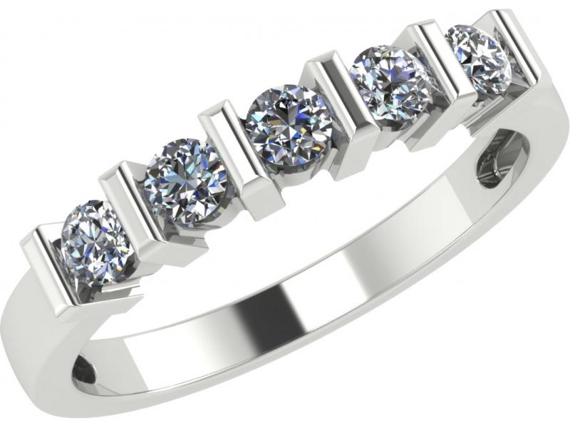 Кольцо из белого золота Бриллиант арт. 1022641-21240 1022641-21240
