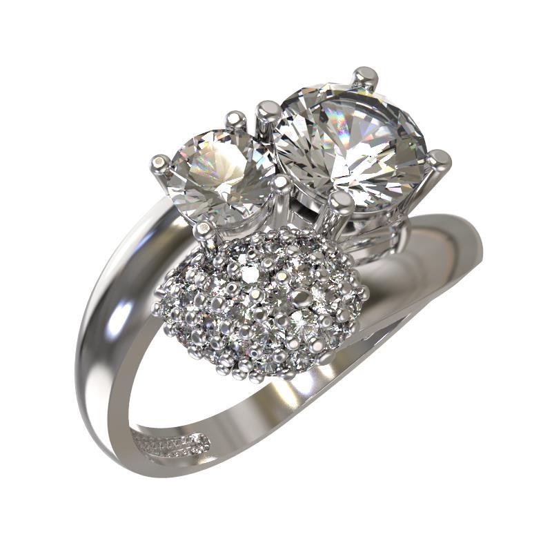 Серебряное кольцо Фианит арт. 1032461-01110 1032461-01110