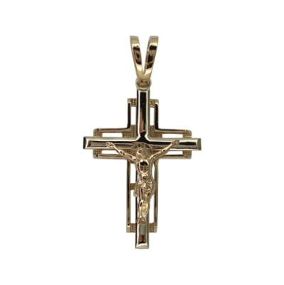 Крест из белого золота арт. 1056эб 1056эб