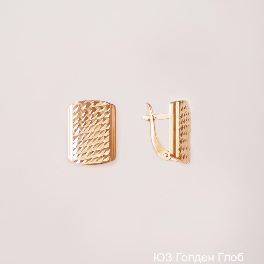 Золотые серьги арт. срг13-05 срг13-05