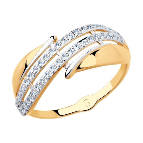 Золотое кольцо Фианит арт. 018131 018131