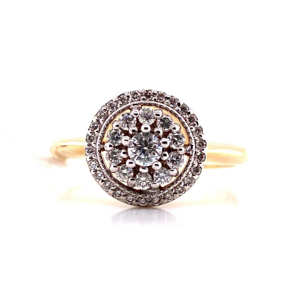 Золотое кольцо Бриллиант арт. к-0298 к-0298