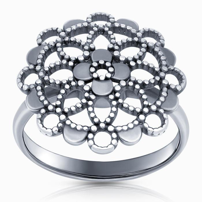 Серебряное кольцо Без вставки арт. 43415 43415