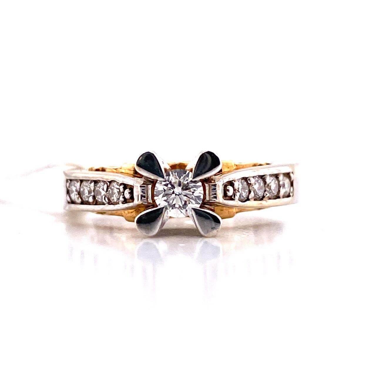 Золотое кольцо Бриллиант арт. к-0431 к-0431