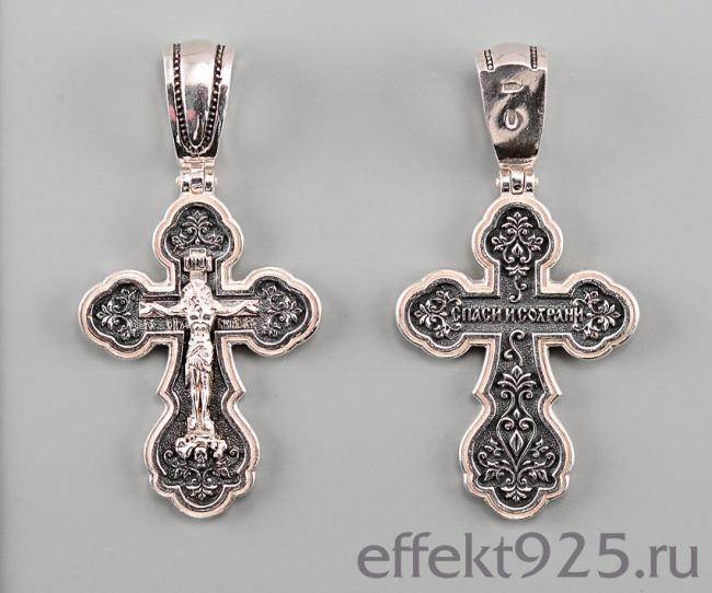 Серебряный крест арт. кс-224 кс-224