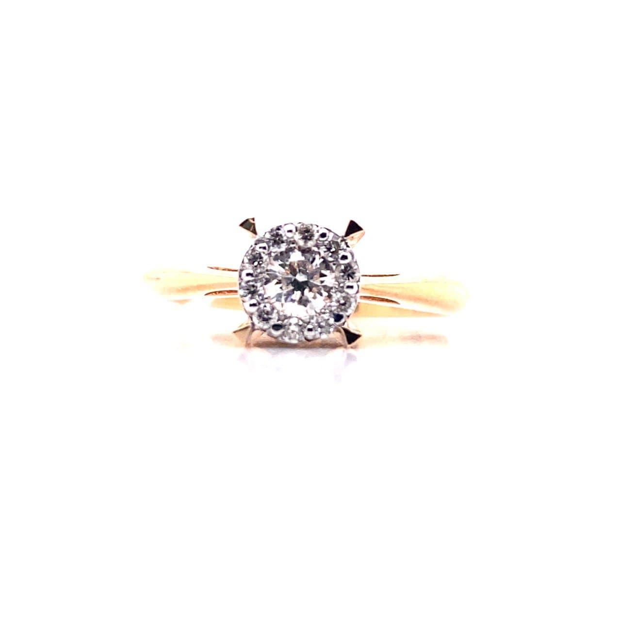 Золотое кольцо к-0220