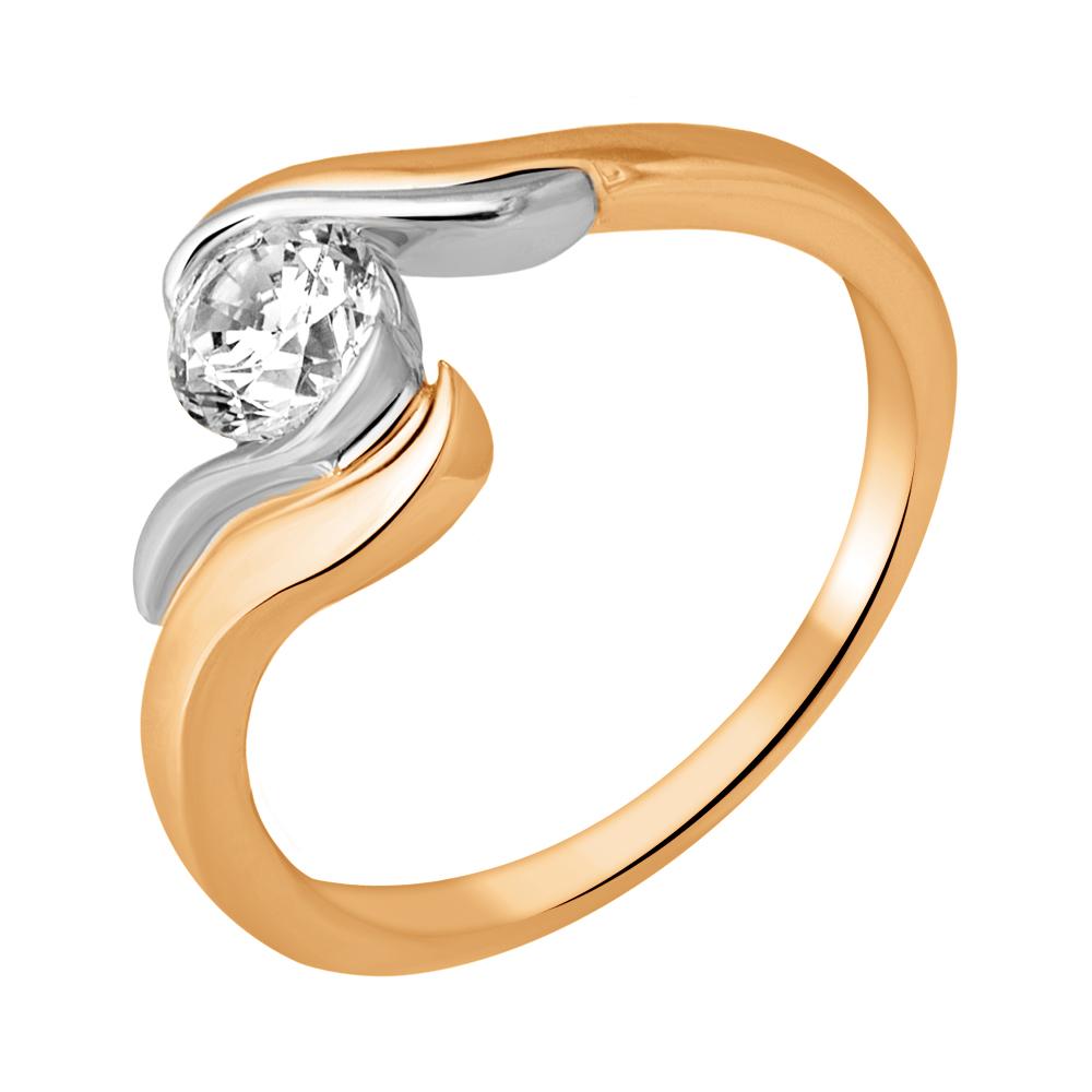 Золотое кольцо Фианит арт. 11-0667-17-01 11-0667-17-01