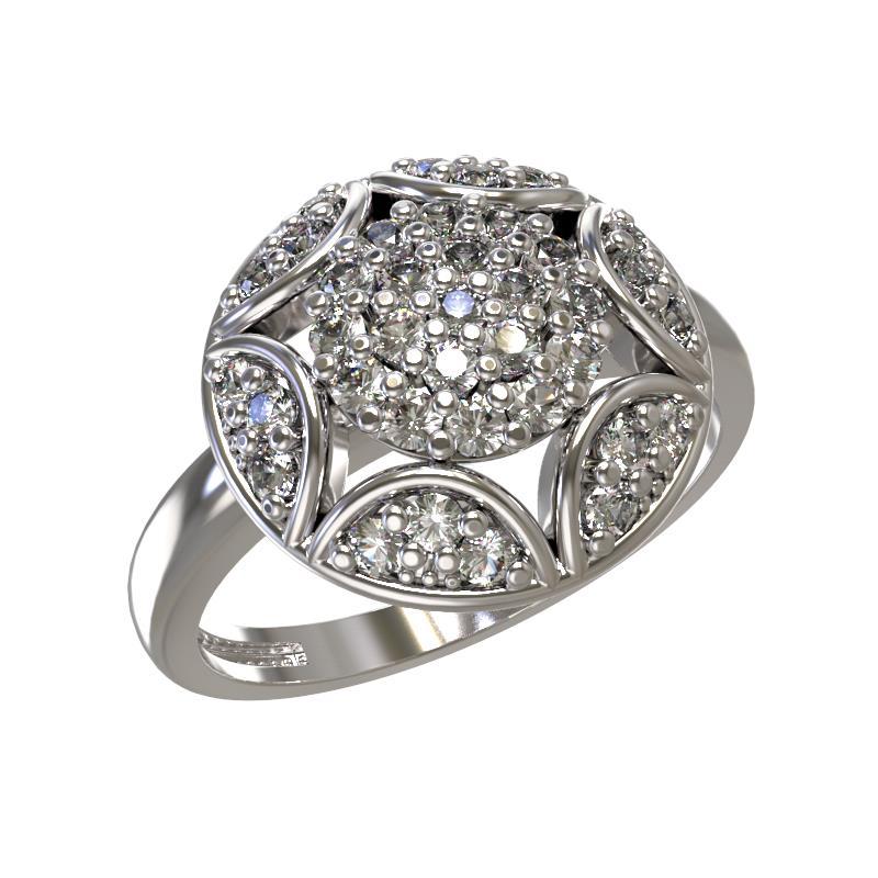 Серебряное кольцо Фианит арт. 1031881-01110 1031881-01110