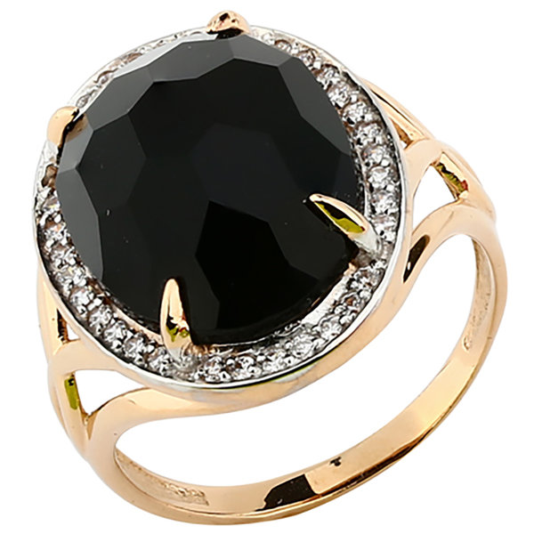 Золотое кольцо Бирюза и Фианит арт. 1779279 1779279