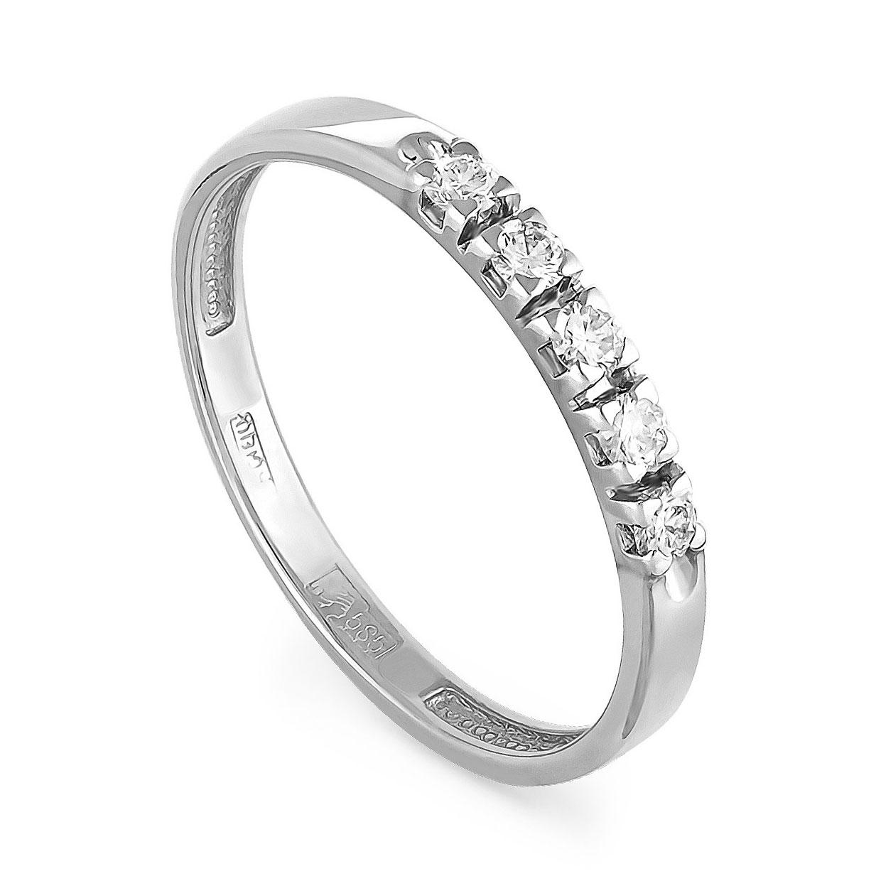Кольцо из белого золота Бриллиант арт. 1-1019-1000 1-1019-1000