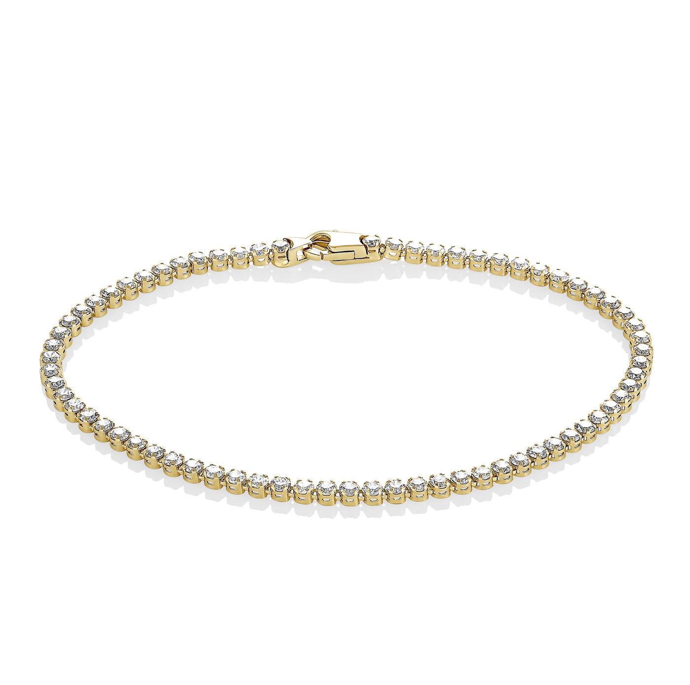 Браслет из лимонного золота с бриллиантом арт. 4-2038-1000 4-2038-1000