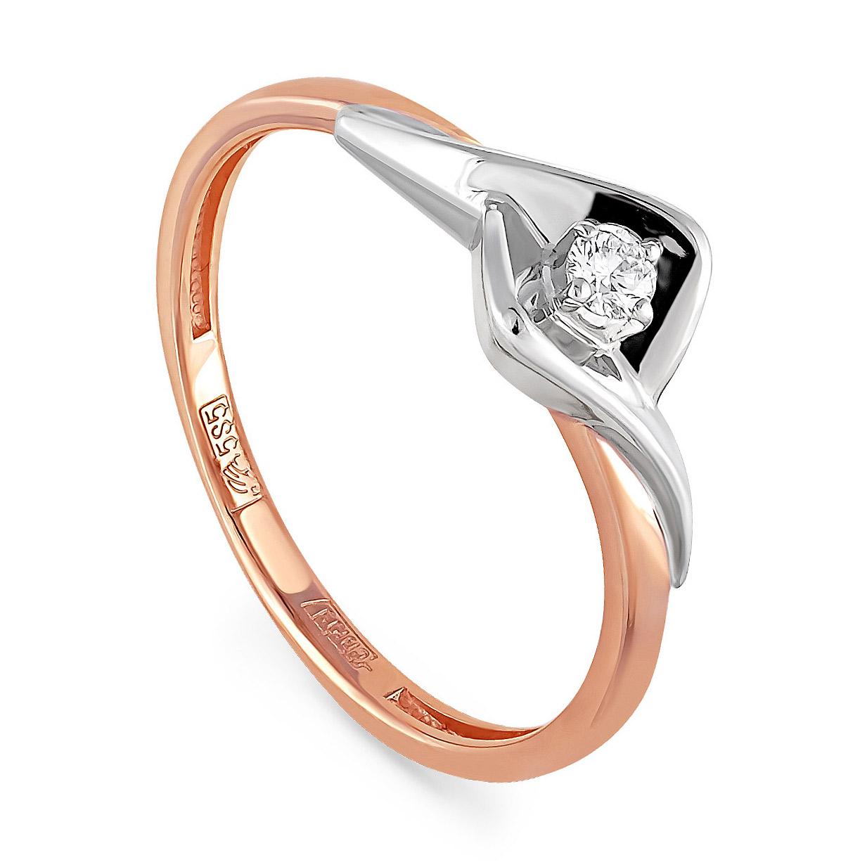 Золотое кольцо Бриллиант арт. 11-0825-1000 11-0825-1000
