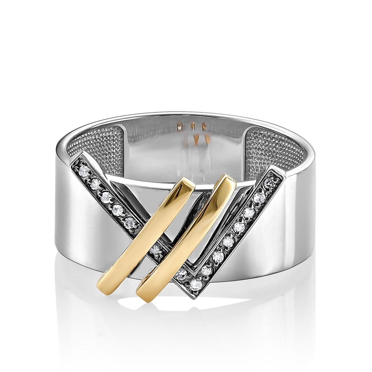 Кольцо из белого золота Бриллиант арт. 11-11221-1000 11-11221-1000