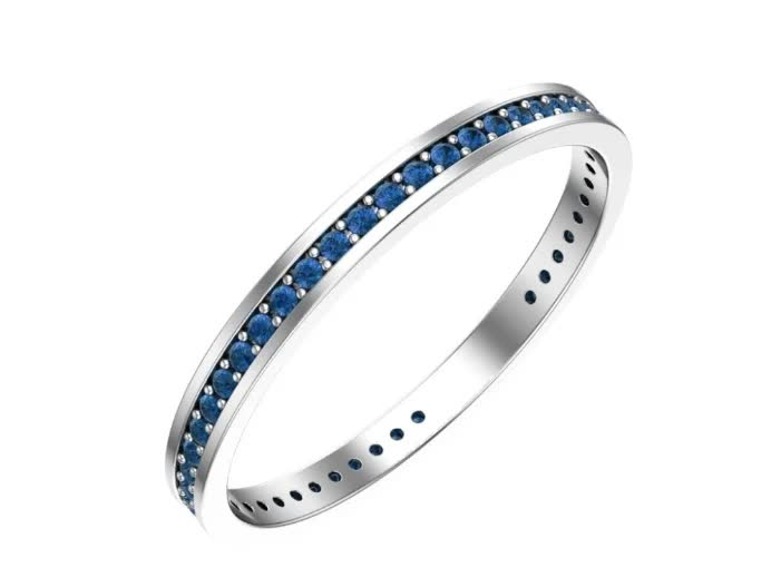 Серебряное кольцо Фианит арт. 0101184-10275 0101184-10275