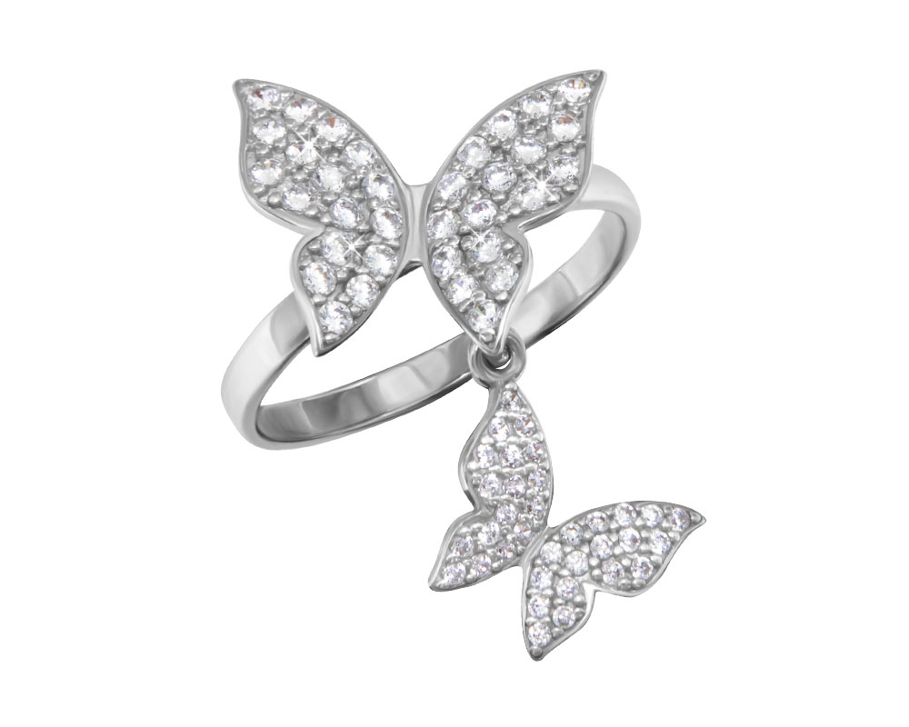 Серебряное кольцо Фианит арт. 1100696-00775 1100696-00775