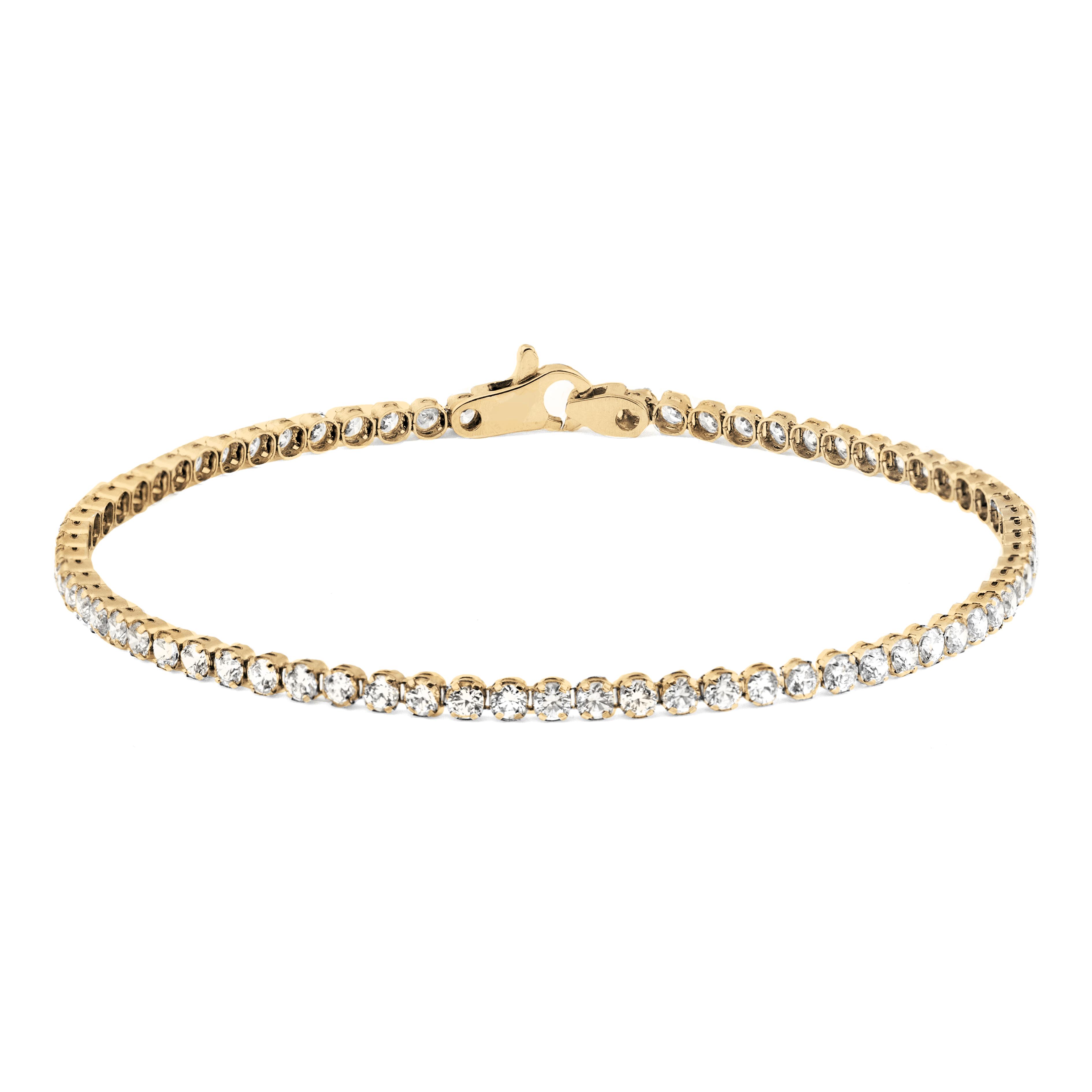 Золотой браслет с фианитом арт. 0606006 0606006