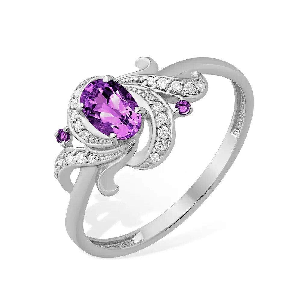 Серебряное кольцо 1021016649-502
