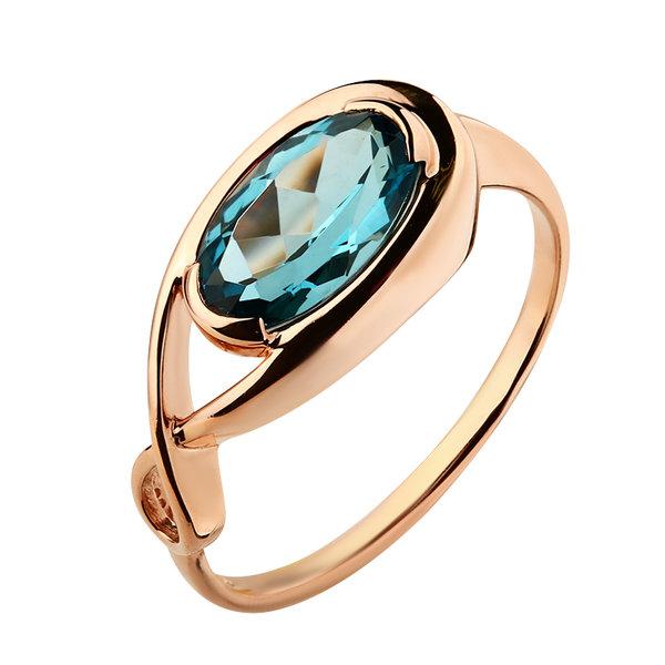 Золотое кольцо Аметист арт. 1170133 1170133