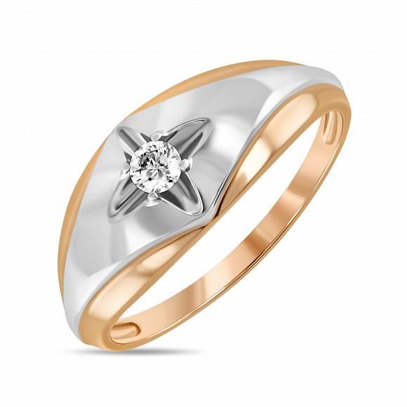 Золотое кольцо Бриллиант арт. r01-34304 r01-34304