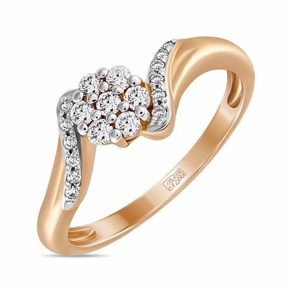 Золотое кольцо Бриллиант арт. r01-34086 r01-34086