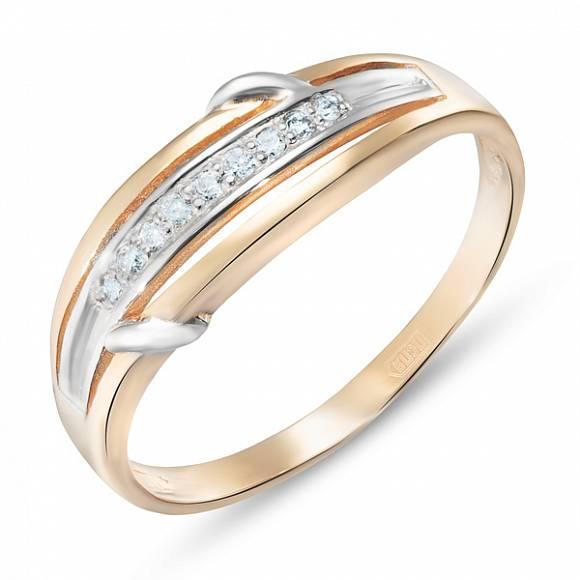 Золотое кольцо Бриллиант арт. r01-33683 r01-33683