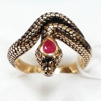 Золотое кольцо Бриллиант и Рубин арт. 290313кр 290313кр