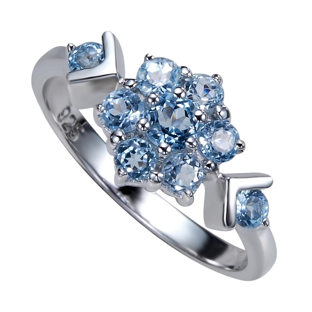 Серебряное кольцо Топаз арт. 41100014 41100014