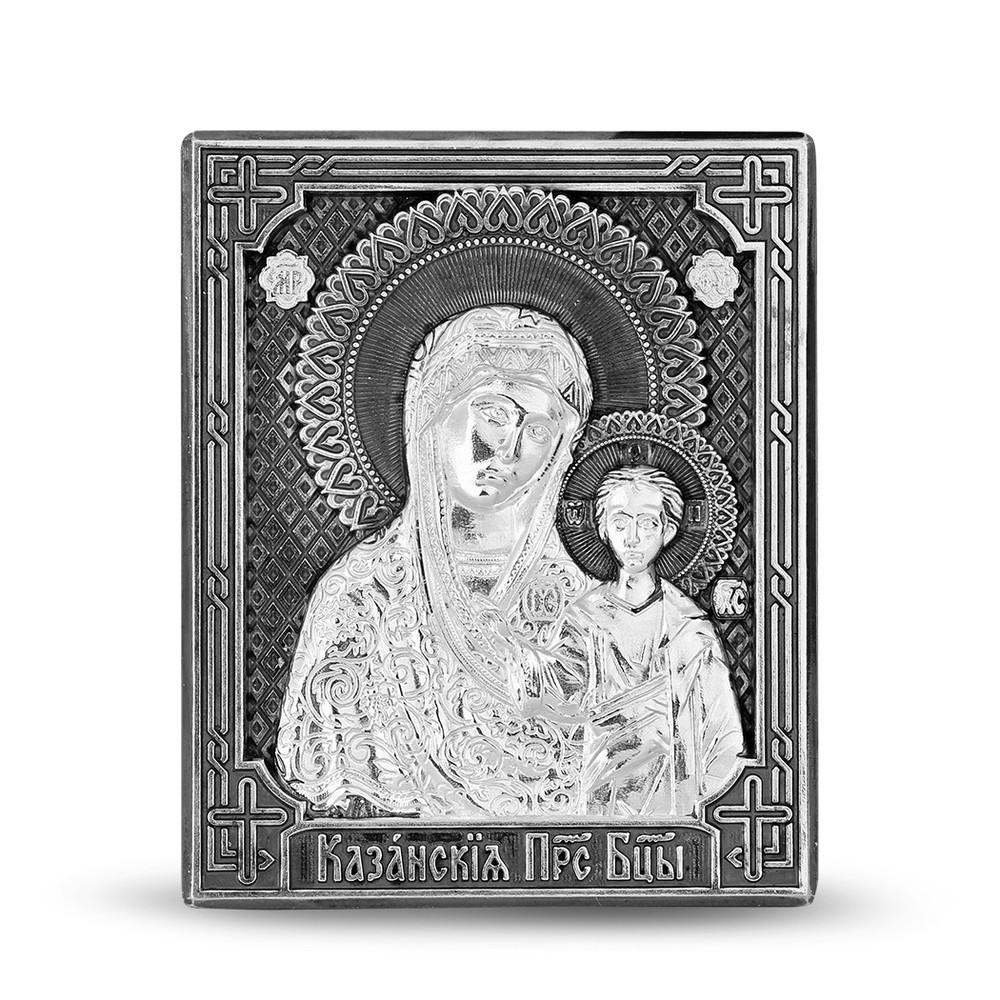 Икона с серебром 999 пробы арт. 35187 35187
