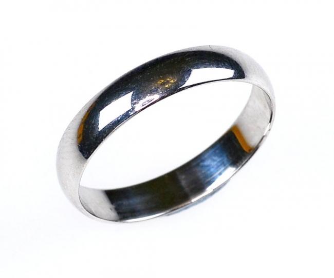 Обручальное кольцо из серебра арт. ко4-20 ко4-20