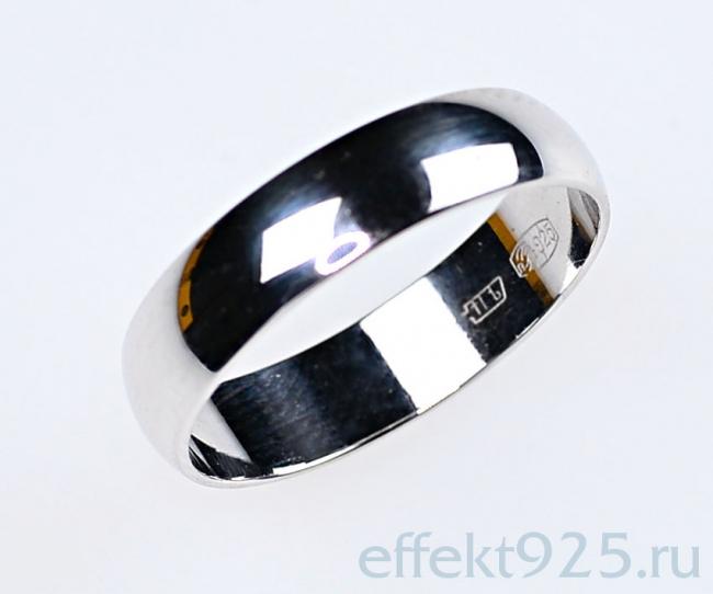 Обручальное кольцо из серебра арт. ко5-19.5 ко5-19.5