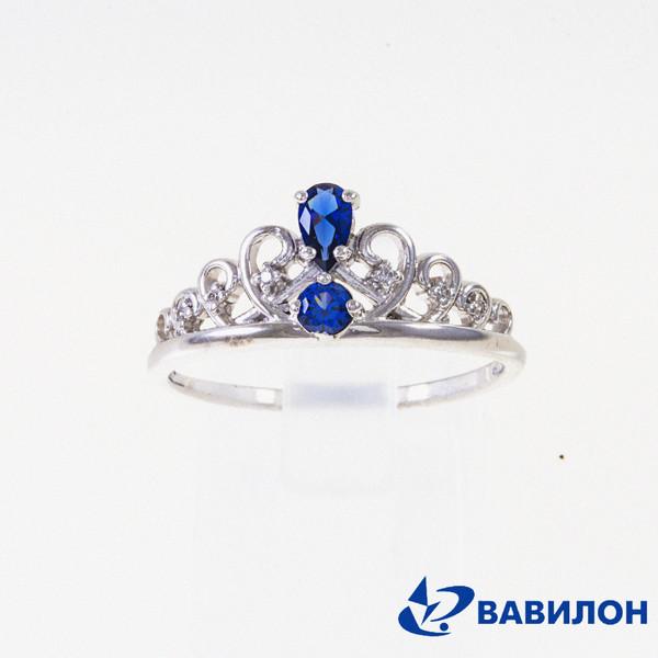 Серебряное кольцо 1502609
