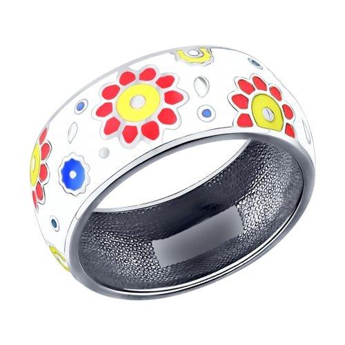 Серебряное кольцо Эмаль арт. 94011736 94011736