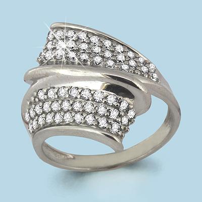 Серебряное кольцо Фианит арт. 63791а 63791а
