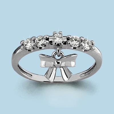 Серебряное кольцо Фианит арт. 63656а 63656а
