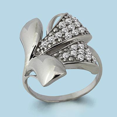 Серебряное кольцо Фианит арт. 63776а 63776а