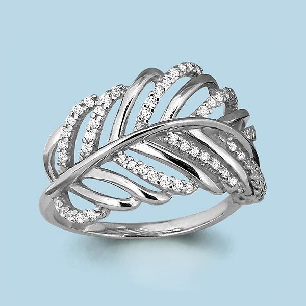 Серебряное кольцо Фианит арт. 64250а 64250а