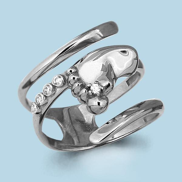 Серебряное кольцо Фианит арт. 63876а 63876а