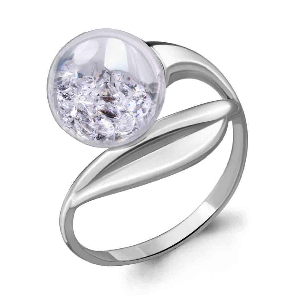 Серебряное кольцо 64414