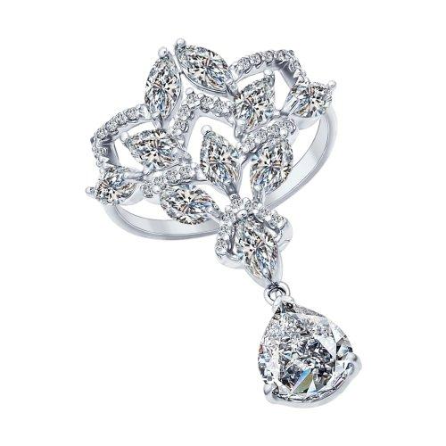 Серебряное кольцо Фианит арт. 94011989 94011989