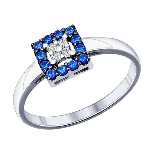 Серебряное кольцо Фианит арт. 94011713 94011713