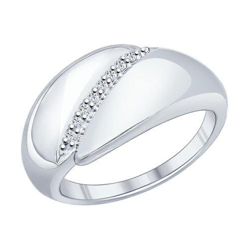 Серебряное кольцо Фианит арт. 94011844 94011844