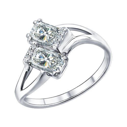 Серебряное кольцо Фианит арт. 94011352 94011352