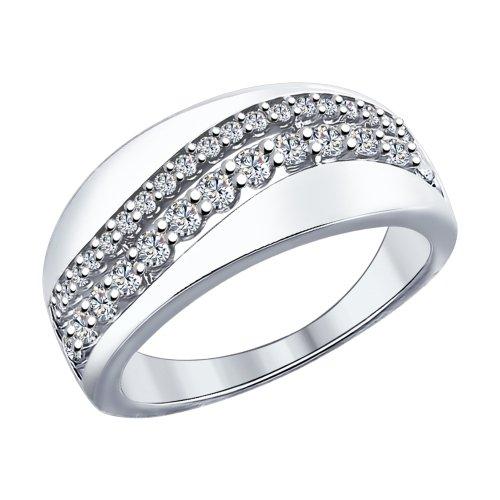 Серебряное кольцо Фианит арт. 94011963 94011963