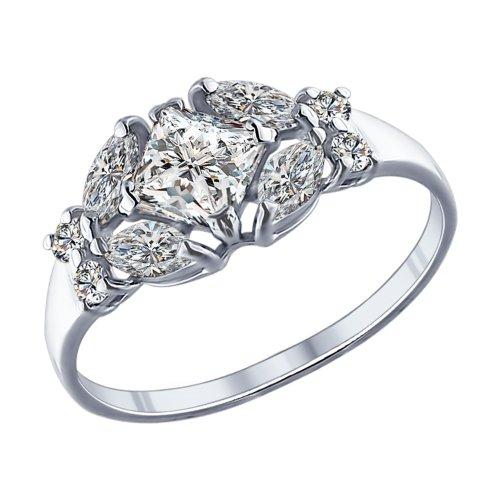 Серебряное кольцо Фианит арт. 94011751 94011751