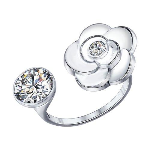 Серебряное кольцо Фианит арт. 94011885 94011885